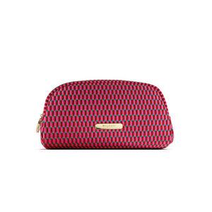 """BVLGARI Bag Parfum Makeup Cosmetic Travel  Pouch *EXCELLENT* 8"""" L x 4.5"""" H x 3""""D"""