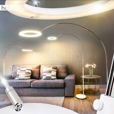 LED Design Stehleuchte Bogen Lampen Stand Boden Wohn Schlaf Zimmer Flur Dimmer