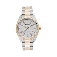 Relojes de pulsera fecha Lorus de acero inoxidable