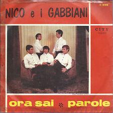 ORA SAI - PAROLE # NICO E I GABBIANI (prima stampa - Italy)