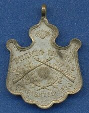 *SHOOTING Military SCHOOL Argentina BUENOS AIRES Patriotic 1900s FLY PRIZE Medal