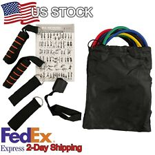 Live Monster 150 lbs Stackable High Resistance Band Set Home GYM Fitness Workout