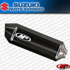 2004 2005 SUZUKI GSX-R600 GSXR GSX-R 600 M4 CARBON CF BOLT ON MUFFLER EXHAUST