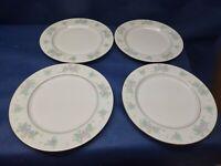 "China Garden Fine China ""Prestige"" Set/4 Dinner Plates EUC Retired Pattern"