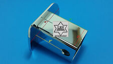 """2""""x 2"""" Trailer Hitch Cover Fits 2 Inch Receiver Pinned Chrome; Plastic Brand New"""