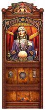 Mystic Mirror Fortune Teller Psychic by Michael Fishel Plasma Cut Metal Sign