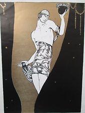 VINTAGE ART PRINT MONTENEGRO NIJINSKY BALLETS RUSSES 2
