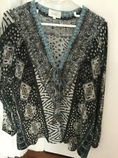 Camilla Franks Silk Top Size 1