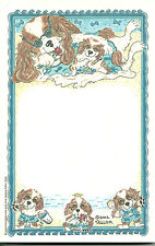 Blenheims At the Beach Cavalier King Charles Spaniels Note Pads Set of 2