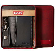 Levi's Men's Rfid Blocking Credit Card ID Chain Trifold Wallet