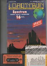 1985 11 - LOAD 'N' RUN - RIVISTA E CASSETTA DI PROGRAMMI - SINCLAIR ZX-SPECTRUM