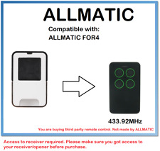 ALLMATIC FOR4 Compatible Remote control Rolling code 433.92MHz.