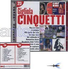 """GIGLIOLA CINQUETTI """"I GRANDI SUCCESSI"""" 2 CD- EUROVISION"""