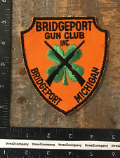 Vintage Bridgeport Gun Club Michigan Hunting Patch MI