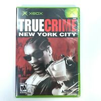 True Crime New York City Microsoft Xbox 2005 New Sealed Video Game