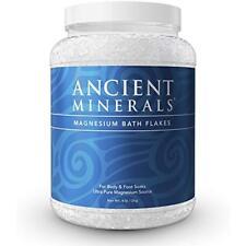Ancient Minerals Magnesium Bath Flakes Bath Salt Supplement Foot Soaks 4.4lb