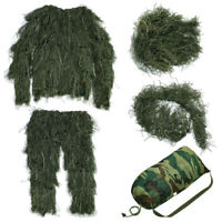 Camouflage Hunting 3D Ghillie Clothing Hunting Shooting Clothes Sniper Suits