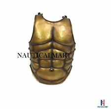 Medieval Roman Greek Chest Plate Muscle Body Armor Cuirass Breastplate Costume