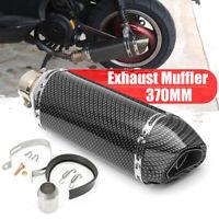 Kit 38-51mm Silencieux d'échappement Fibre Carbone Amovible Dirt Bike Moto Quad