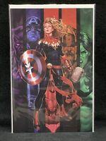 Captain Marvel #16/ Brooks Virgin Variant/ Marvel Comics/ Vox Supreme/ Avengers