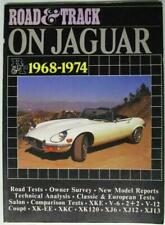 ;ROAD & TRACK ON JAGUAR 1968-1974, CLARKE, BROOKANDS, NEW BOOK