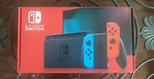 🔥Nintendo Switch 32GB Gray Console with Neon Red and Neon Blue Joy-Con (V2)🔥🔥