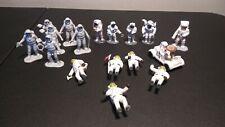 Lot of 17 Astronaut NASA Space Men Toy Figures Various Sizes