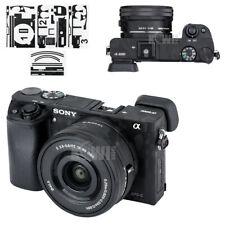 Camera Body Skin 3M Sticker Protector Film fr Sony A6000 + SELP1650 16-50mm Lens