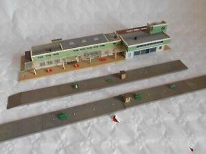 N gauge continental buildings vollmer Freistadt station 1960s german