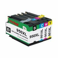 VIVINK Remplacement de cartouche d'encre compatible pour HP 950XL 951XL 950 XL 9