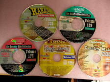 Chartbuster Karaoke -  Country Hits Collection  CD + G   5 Disc