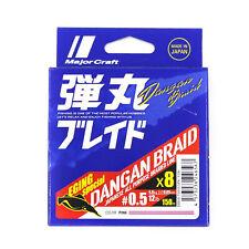 Major Craft Dangan Braided Line X8 150m P.E 0.5 Pink DBE8-150/0.5PK/12lb (6567)