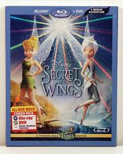 Secret of the Wings (Blu-ray / DVD Combo 2012 2-Disc) NEW Tinker Bell Slipcover