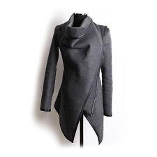 Fashion Women Trench Coat Warm Ladies Parka Overcoat Long Jacket Winter Outwear