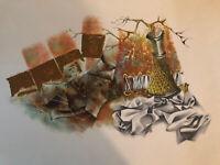 Siegfried Reinhardt, Still Life, Lithograph
