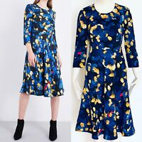 GORGEOUS LK BENNETT X PREEN SYD FLORAL PRINT CREPE DRESS  UK SIZE 10 RRP £350
