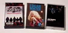 ROCK METAL LOT OF 3 CASSETTE TAPES JIMI HENDRIX ANTHRAX EDGAR WINTER VG+ USED