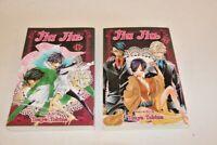Jiu Jiu Manga Vol 1 & 2 Shojo Beat Paperback Books Touya Tobina Viz Media Manga