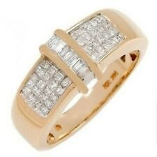 0.50CT Stunning Ring With Genuine Clean Diamonds 6.6g 14K YG No Reserve! WOW!