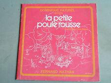SP 45T  / DOMINIQUE PATUREL /LA PETITE POULE ROUSSE / 5F179