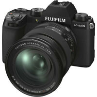 FUJI X-S10 Mirrorless Digital Camera in Black + 16-80mm Lens (UK Stock) BNIB