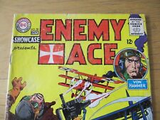 Showcase #58 Enemy Ace. Hard To Find Silver Age Dc Issue: Fine!