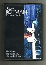 Sam Rotman Concert Pianist (2000, Dvd) Music and Testimony: Christianity