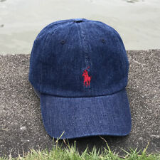 Polo Classic Embroidered Pony Cotton Chino Baseball Cap Adjustable Hat 15 Colors