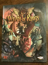 Wrath of Kings Rulebook NEW MINT Hardcover CMON NEW