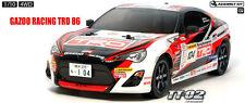 Tamiya RC Kit 1/10 4wd Toyota Gazoo Racing TRD 86 Tt-02 Chassis 58574