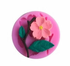 Flower, Leaf & Branch Silicone Mold for Fondant, Gum Paste, Chocolate, Crafts