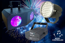 Jeux de lumière LED   sono dj led laser Pack lumière  NiGHT&LIGHT IBIZA LIGHT
