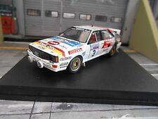 AUDI Quattro Rallye RAC GB 1984 2. Place #3 Mikkola Shell BBS Pirel Trofeu 1:43
