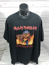 Iron Maiden The Number Of The Beast T-Shirt Size XL/XXL